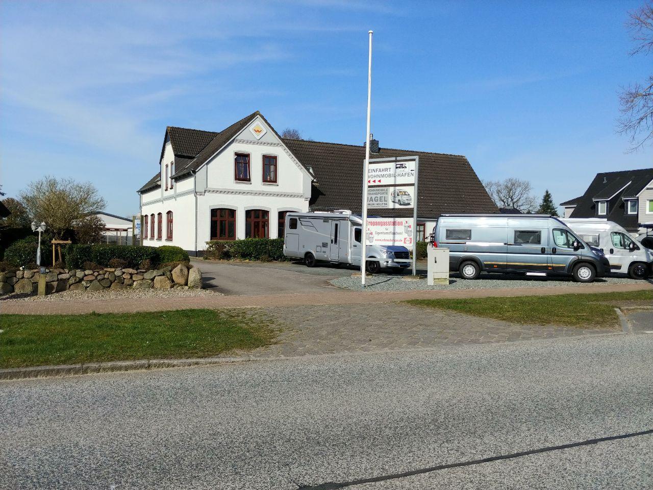 Wohnmobilhof Jagel Werkstatt