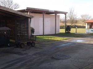 Waschcontainer wohnmobil stellplatz